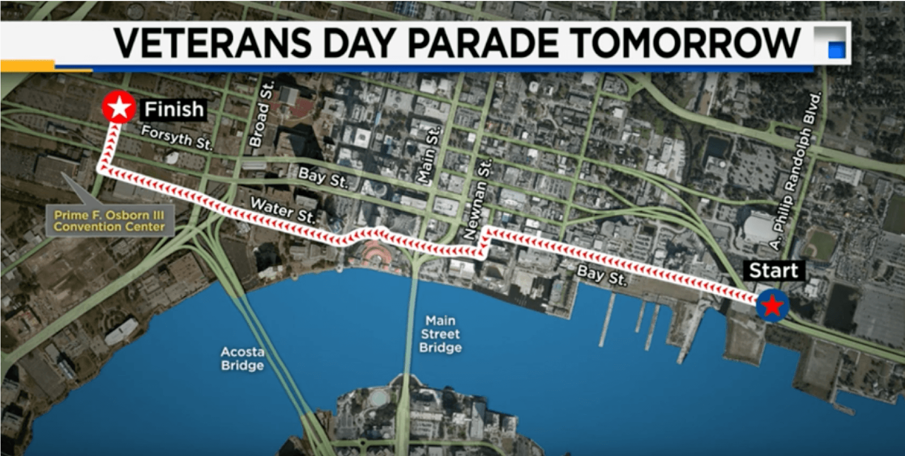 Jacksonville veterans day Parade