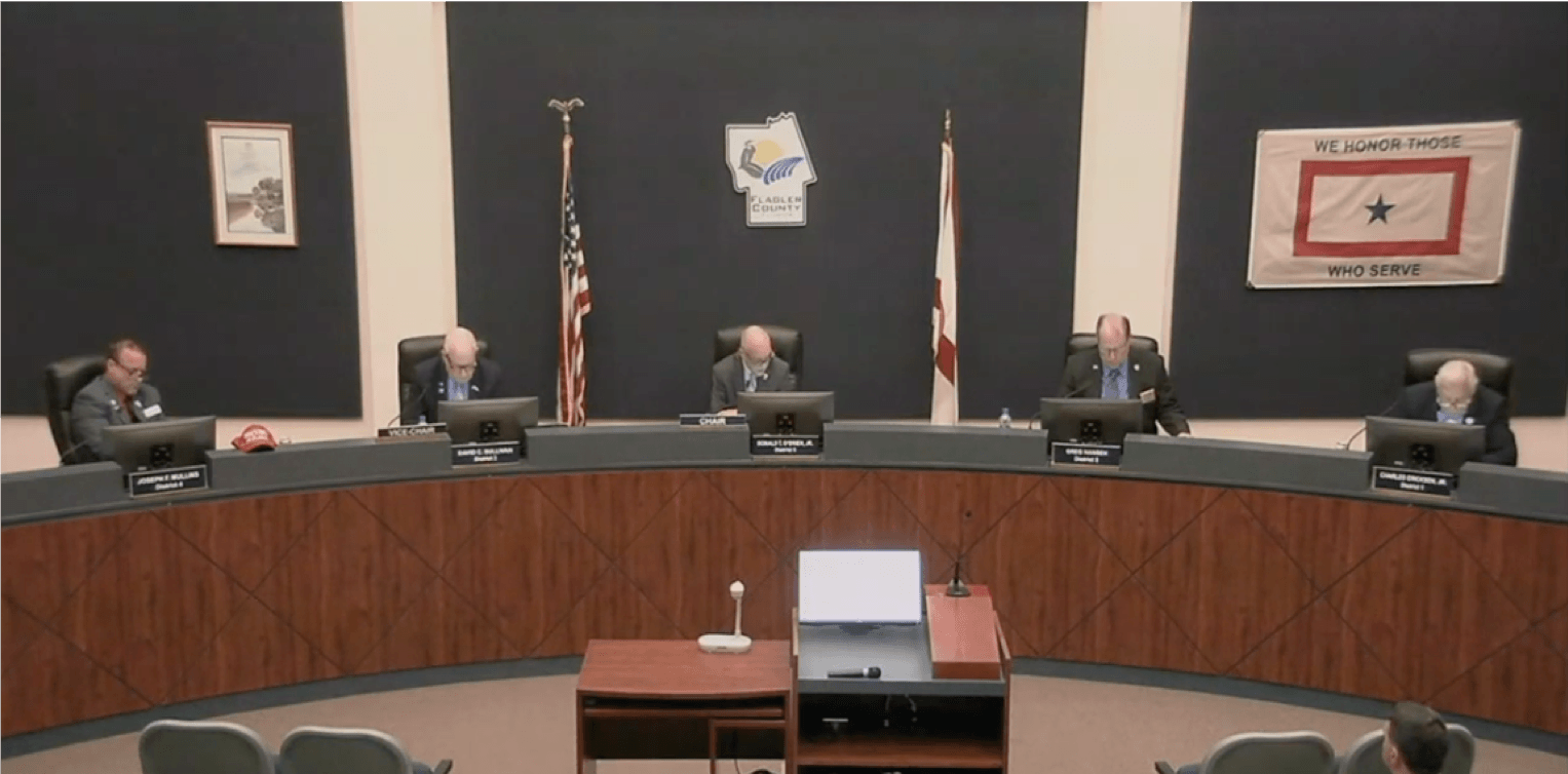 flagler county commission