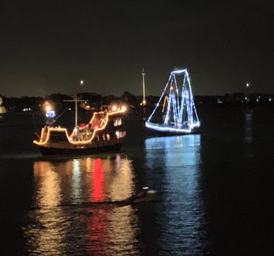 Nights of lights Boat parade